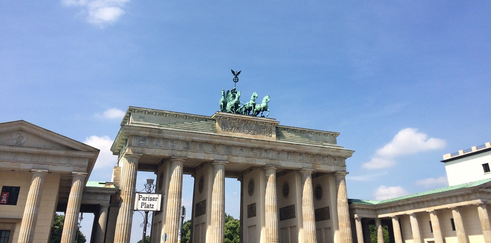 Brandenburg Gate in Berlin - by Hannah Cackett (Authentic Gems Travel)