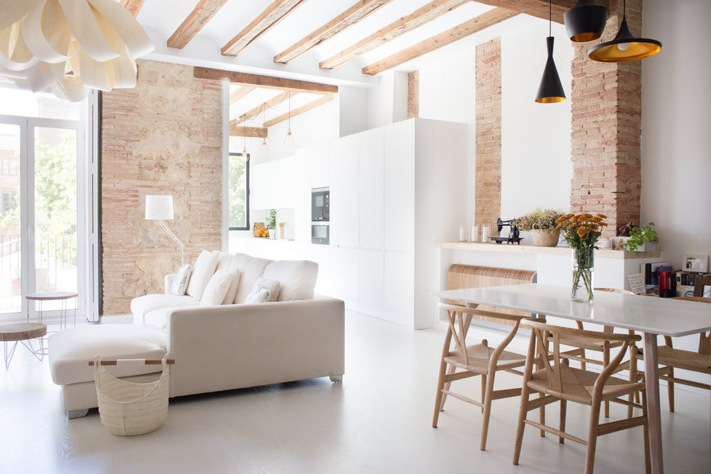 modern renovated spanish apartment with