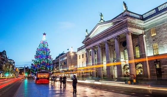 Image result for dublin ireland christmas