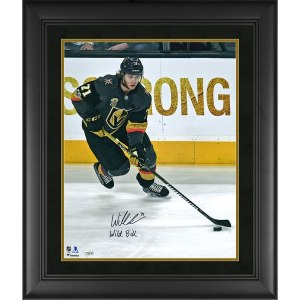 Autographed Vegas Golden Knights William Karlsson Fanatics Authentic Framed 16