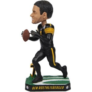 Pittsburgh Steelers Ben Roethlisberger Fanatics Authentic Color Rush Bobble Head