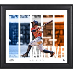 Houston Astros Jose Altuve Fanatics Authentic Framed 15'' x 17'' Player Panel Collage