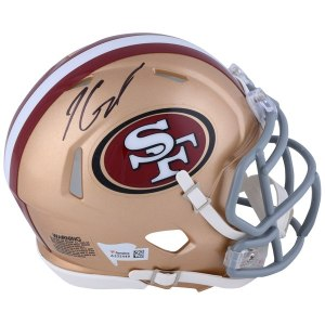 Autographed San Francisco 49ers Jimmy Garoppolo Fanatics Authentic Riddell Speed Mini Helmet