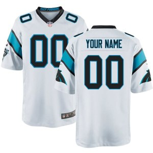 Nike Men's Carolina Panthers Customized Game White Jersey
