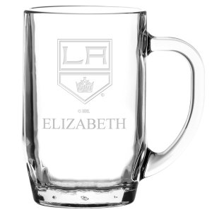Los Angeles Kings 20oz Personalized All Purpose Glass Mug
