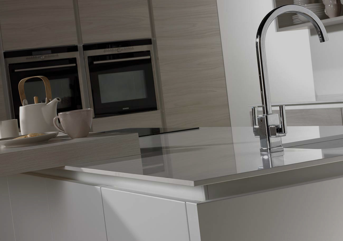 Otto Handless Rail Kitchen  Authentic Kitchens Cheshire