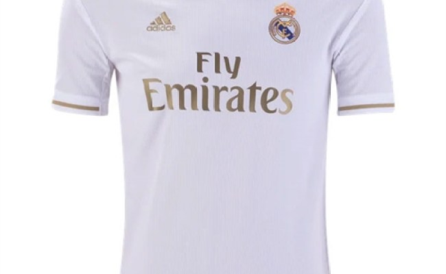 Adidas Real Madrid Youth Home Jersey 2019 2020 Dx8838
