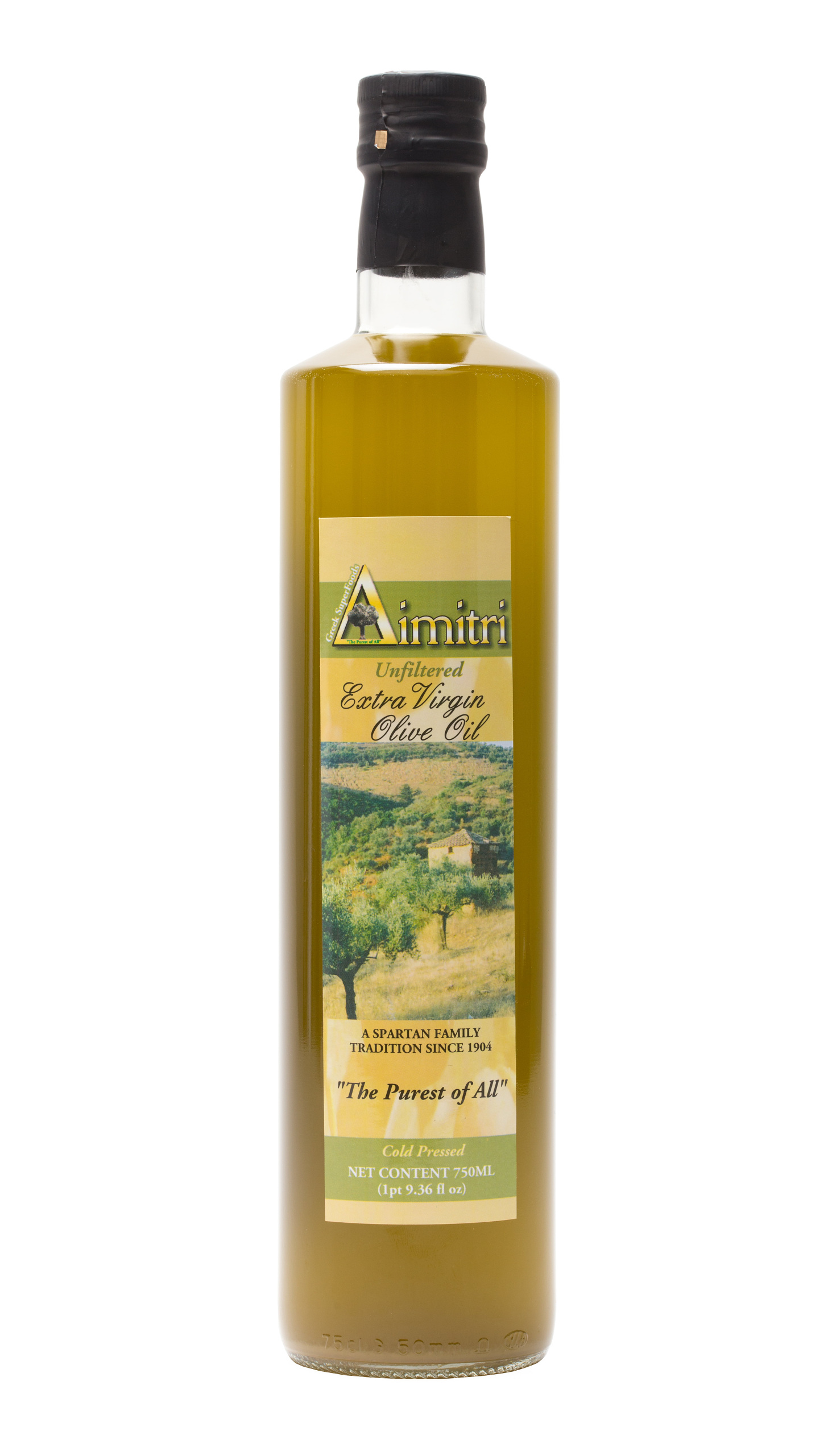 Dimitri Unfiltered Extra Virgin Olive Oil (750ml)