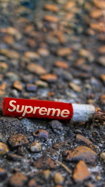 supreme Supreme Cigarette Wallpaper - AuthenticSupreme.com