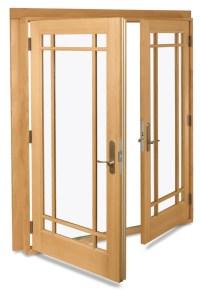 Swinging French Doors