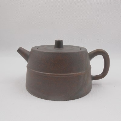 Fambe Well Curb Grey Clay Teapot