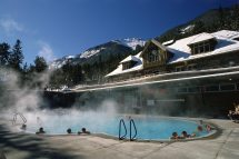 Banff Upper Hot Springs Canada