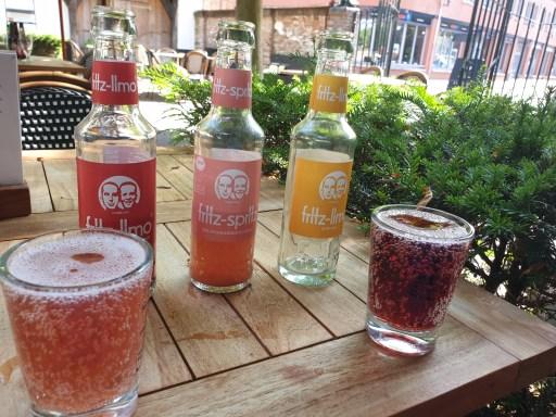 Drinken op het terras