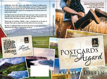 POSTCARDS FROM ASGARD - Amalia Dillin