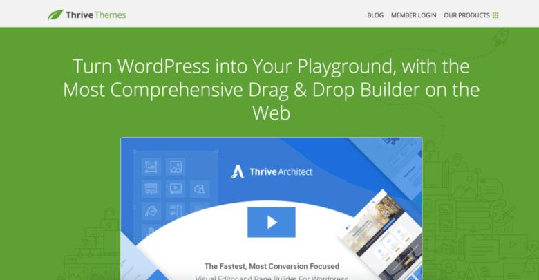 Sito Web di Thrive Architect