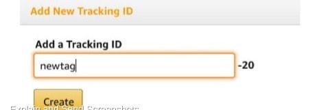 Amazon Aggiungi un ID di monitoraggio