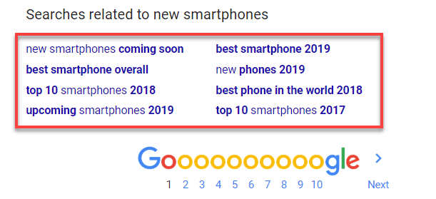 Domande correlate a Google