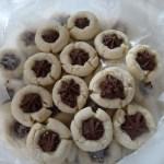 Chocolate Kissed Sugar Cookies