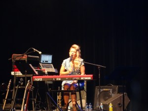 """Amy Whitcomb singing """"A Natural Woman"""""""