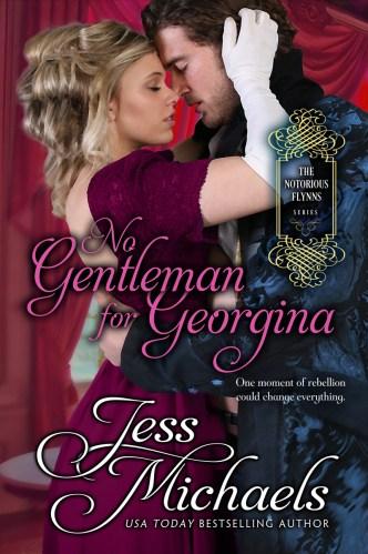 No Gentleman for Georgina by Jess Michaels