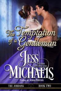 The Temptation of a Gentleman by Jess Michaels writing as Jenna Petersen