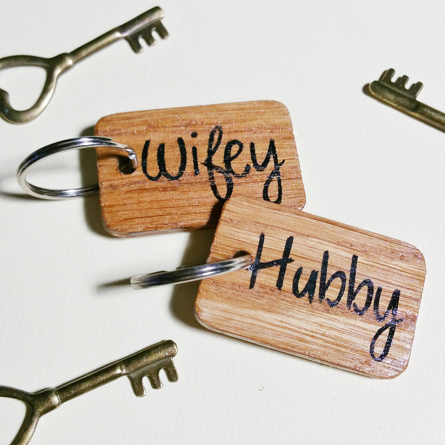 Couples Key Rings Author Love