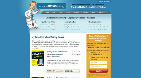 Example MyBookTable Site
