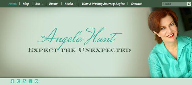 Angela Hunt Website