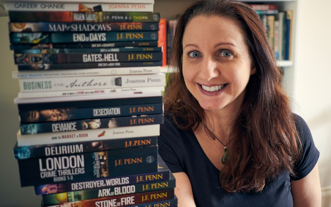 New Years Productivity for Authors With Joanna Penn
