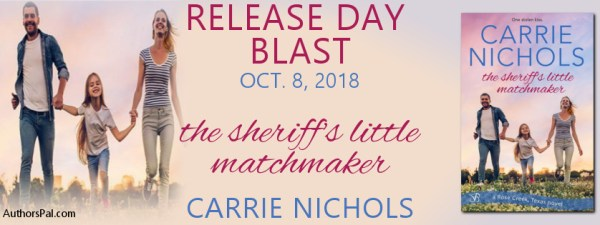 The Sheriff's Little Matchmaker release day banner