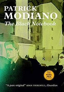 Cover of The Black Notebook by Patrick Modiano