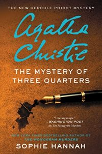The Mystery of Three Quartes alternative cover