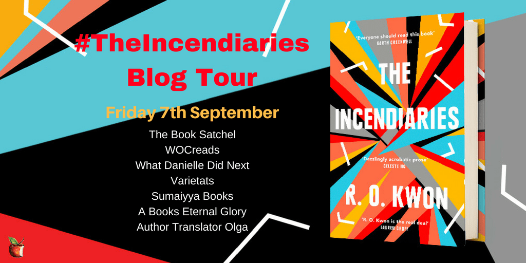 Banner The Incendiaries Blog Tour 7th September