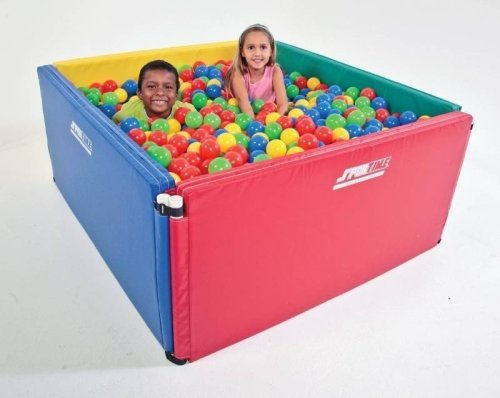 Economy Expandable Ball Pit 4'x4' - Includes 1,500 Balls