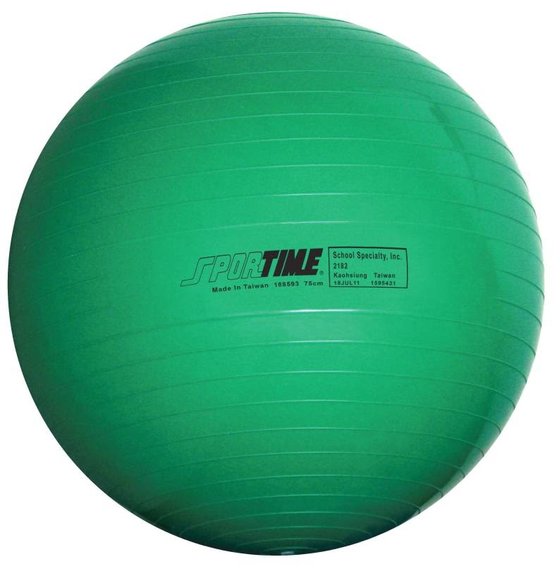 Sportime Therapy and Exercise Ball (25 1/2 inch - Green)