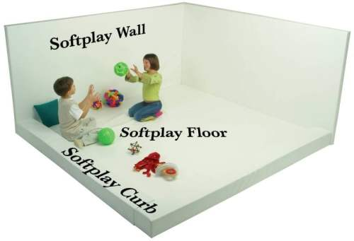"Softplay Wall (60""W x 48""H Buildable Whiteroom)"