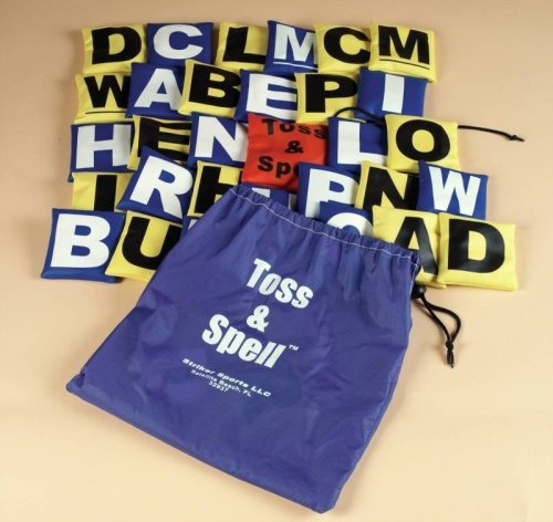 Toss and Spell Beanbag Game