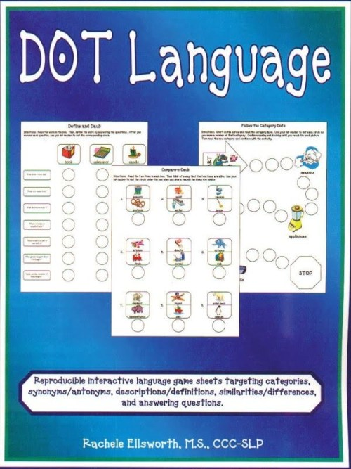 DOT Language Plants and Animals Classroom Resources