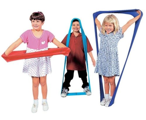 ShapeShifter Stretch Bands with Activity Guide, Set of 6