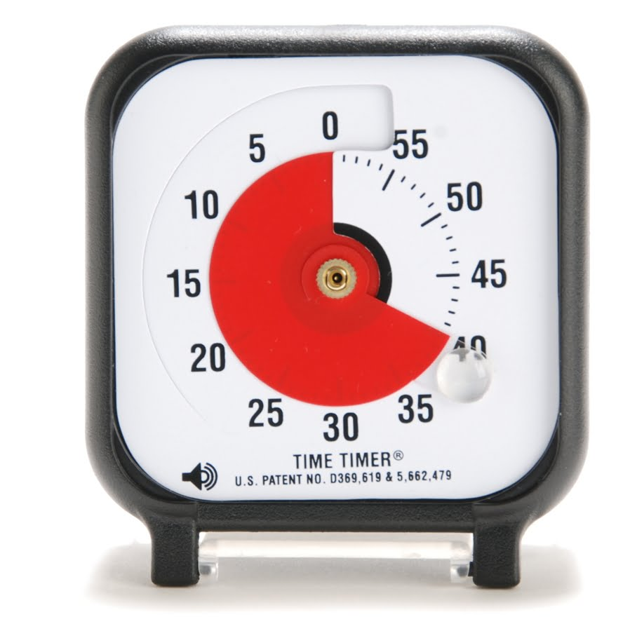 Time Timer Audible Countdown Timer (3 inch)