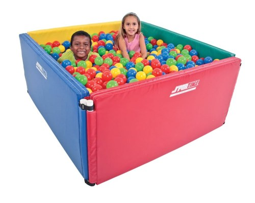 Multi-Sensory Ball Pit - 4' Square - Includes 2500 Balls
