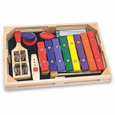 Melissa & Doug Musical Instruments Band in a Box Collection