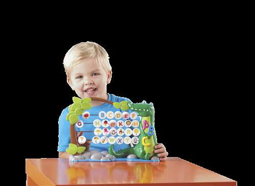 Learning Resources AlphaGator Abacus, Grades PreK and Above