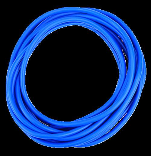 CanDo No-Latex Heavy Resistance Tube, Blue, 25 Feet