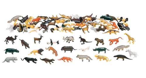 Marvel Education Wild Animal Set, 108 Pieces