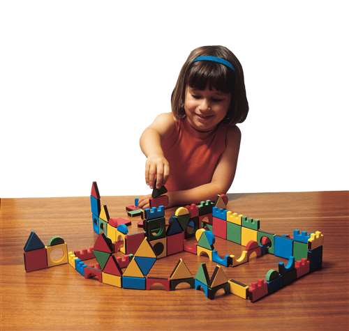 Edushape Magnetic Magic Shapes Classroom Pack, 81 Piece Set