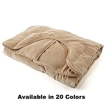 Sleep Tight Weighted Blanket in Queen Anne's Lace