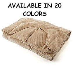 Sleep Tight Weighted Blanket in Spring Green