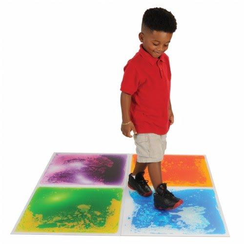 Spooner Surfloor Liquid Tile, Purple - Fluid Filled Floor Tile ...