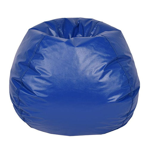Wondrous Bean Bag Chairs Child Size Blue Bralicious Painted Fabric Chair Ideas Braliciousco